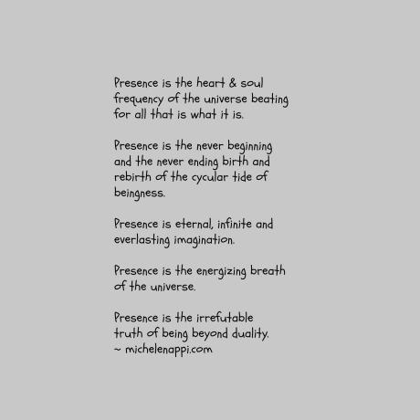 presenceistheheartsoul