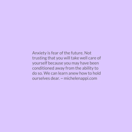 anxietyisfear