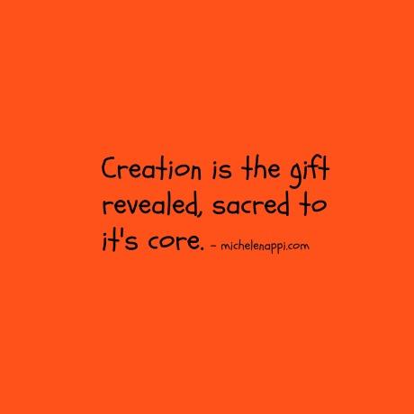creationisthegift
